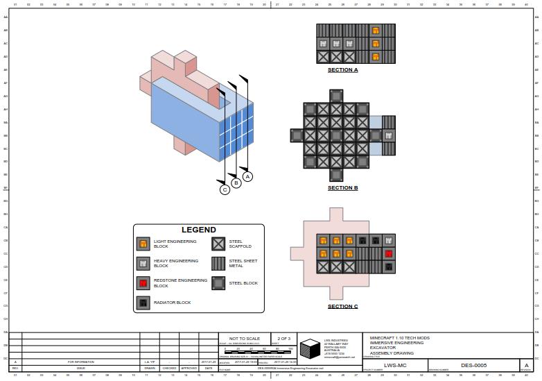 Immersive Engineering - Excavator Build Instructions