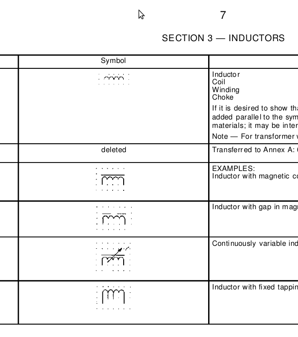 How to draw an inductor symbol